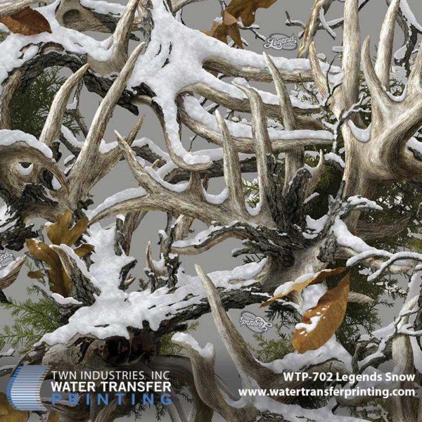 WTP-702 Boneyard Legends Snow Hydrographic Film