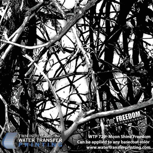WTP-729 Moon Shine Freedom Hydrographic Film
