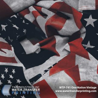 WTP-741 One Nation Vintage Hydrographic Film
