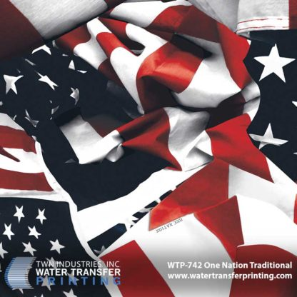 WTP-742 One Nation Traditional Hydrographic Film