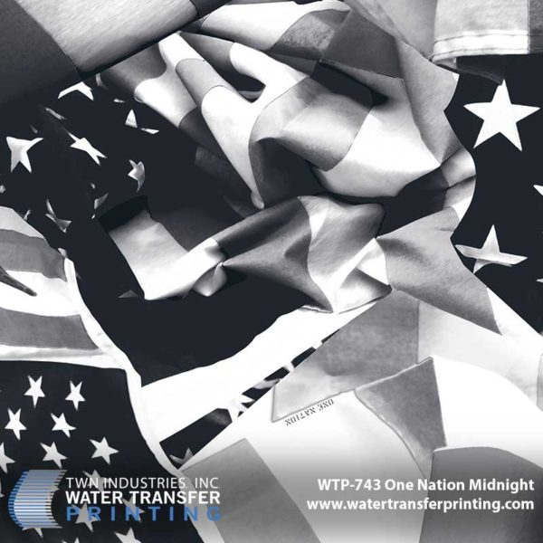 WTP-743 One Nation Midnight Hydrographic Film