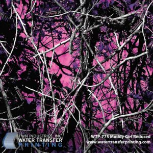 WTP-775 Muddy Girl Reduced Hydrographic Film