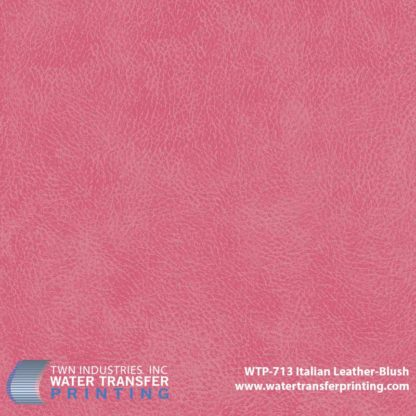 WTP-713 Italian Leather Blush Hydrographic Film