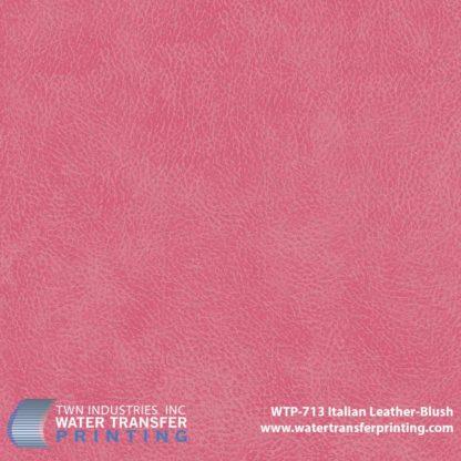 WTP-713 Italian Leather Blush Hydrographic Film