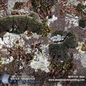 WTP-757 Ston Camo Hydrographic Film