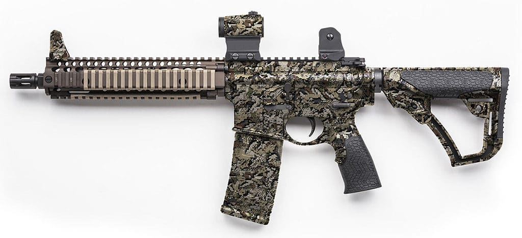 Desolve Wing Hydro Dipped Rifle