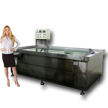 how to build a water transfer printing tank