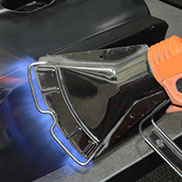 FLAME TREATMENT FOR HYDROGRAPHICS