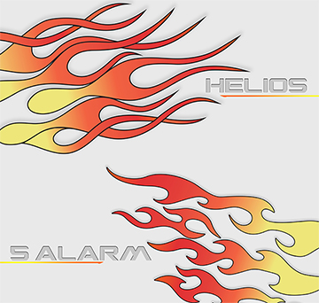 HELIOS AND 5-ALARM HYDROGRAPHIC FILM PATTERN-FLAMES HYDRO DIPPING