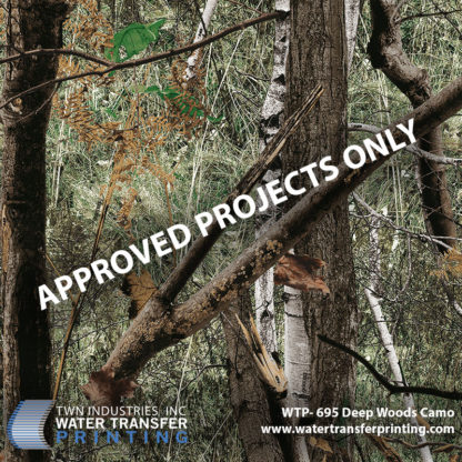 WTP-695 Deep Woods Camo Hydrographic Film