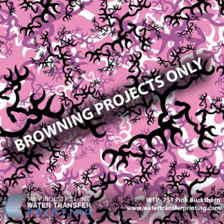WTP-751 Browning Pink Buckthorn Hydrographic Film