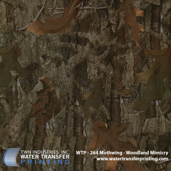WTP-264 Mothwing Woodland Mimicry Hydrographic Film