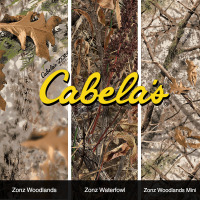 TWN Industries and Cabela's Release Three New Revolutionary Hydrographic Film Patterns