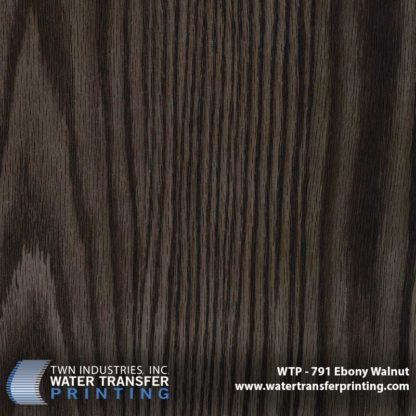 WTP-791 Ebony Walnut Hydrographic Film