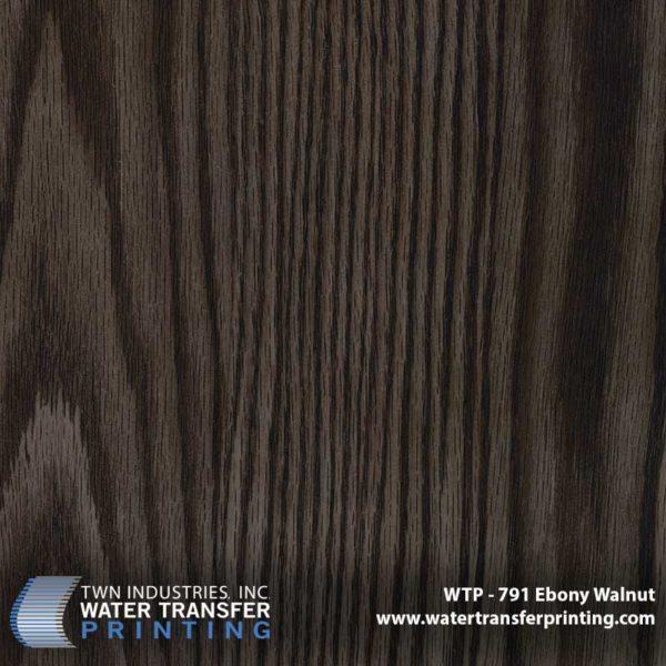WTP-791 Ebony Walnut Hydrographic Film