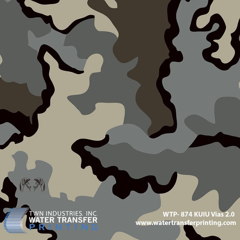 Wtp 874 Kuiu Vias 2 0 Hydrographic Films Water Transfer