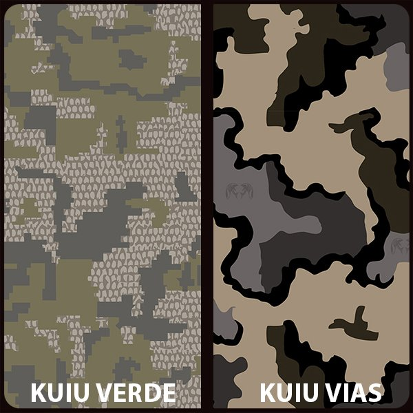 KUIU Vias and KUIU Verde Original Hydrographic Film