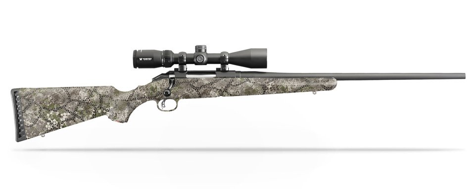 Rifle Dipped in Badlands Approach Camouflage