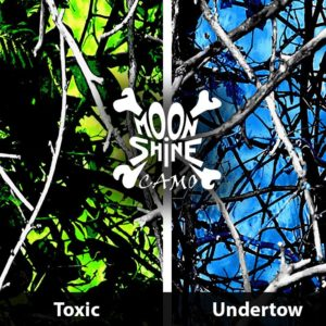 Moon Shine Toxic and Undertow Hydrographic Film