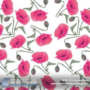 WTP-575 Garden Rose Hydrographic Film