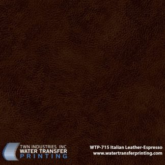 WTP-715 Italian Leather Expresso Hydrographic Film