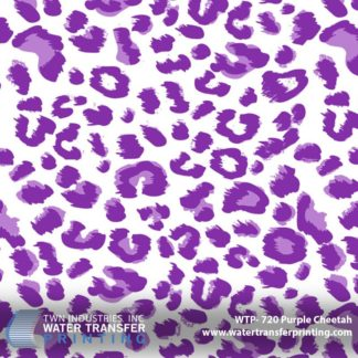 WTP-720 Purple Cheetah Hydrographic Film
