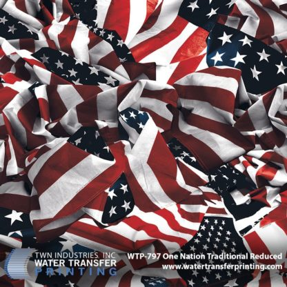 WTP-797 One Nation Traditional Reduced Hydrographic Film