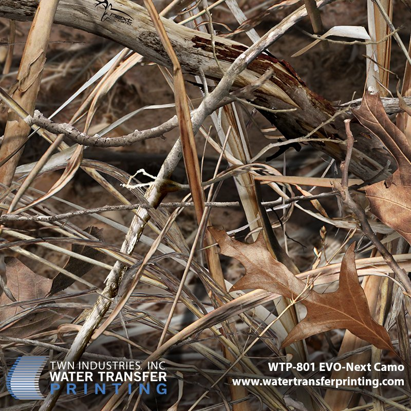 WTP-801 Next Camo Evo Hydrographic Film