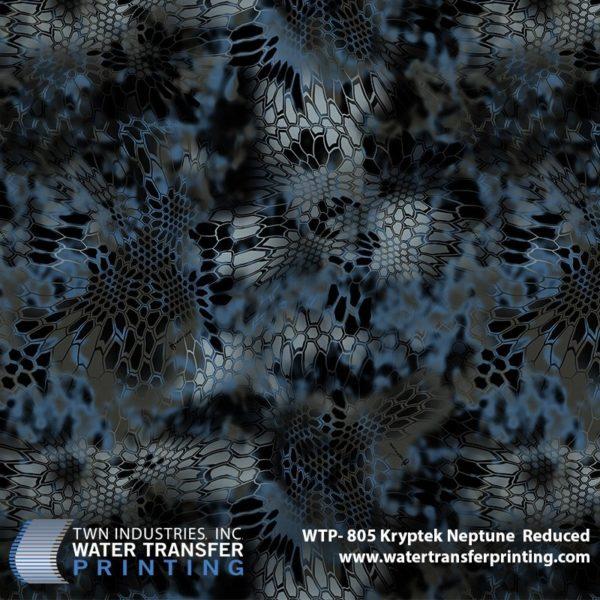 WTP-805 Kryptek Neptune Reduced Hydrographic Film