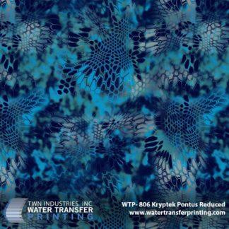 WTP-806 Kryptek Pontus Reduced Hydrographic Film