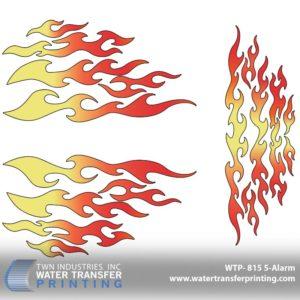 WTP-815 5-Alarm Hydrographic Film