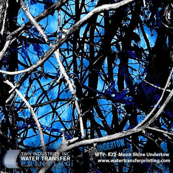 WTP-822 Moonshine Undertow Hydrographic Film