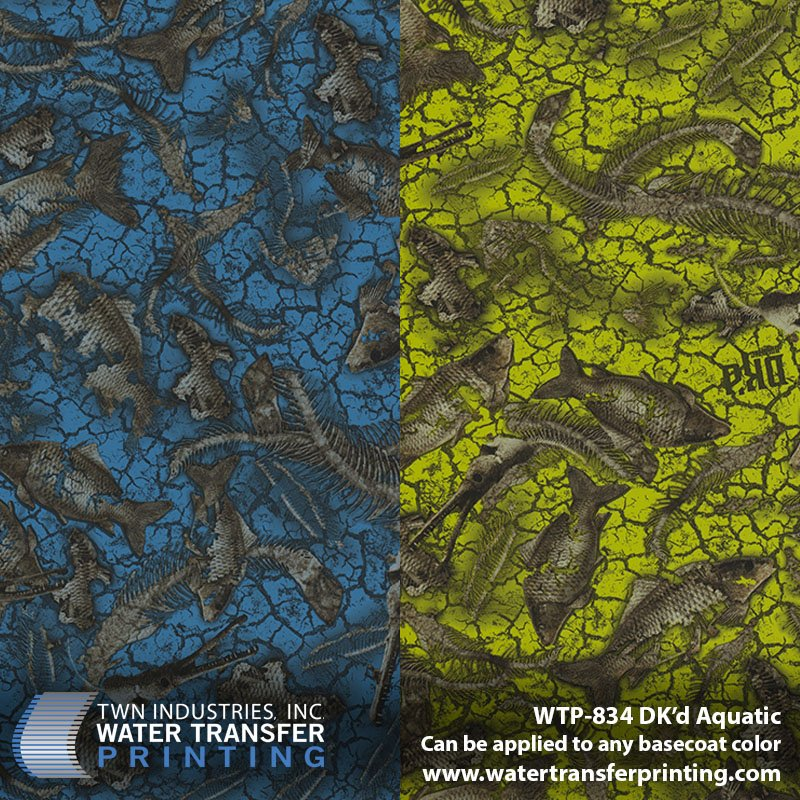 WTP-834 DKd Aquatic Hydrographic Film