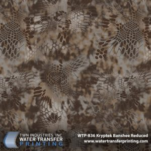WTP-836 Kryptek Banshee Reduced Hydrographic Film