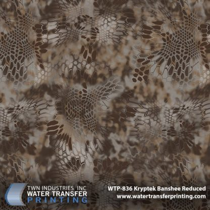 WTP-836 Kryptek Banshee Reduced Hydrographic Film