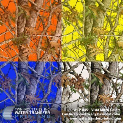 WTP-845 Vista Micro Colors Hydrographic Film