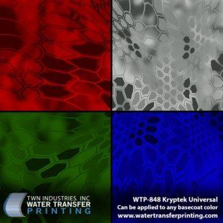 WTP-848 Kryptek Universal Hydrographic Film