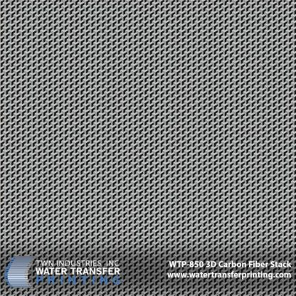 WTP-850 3D Carbon Fiber Stack Hydrographic Film