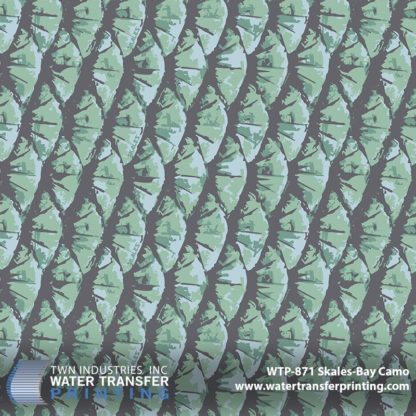 WTP-871 Skales Bay Camo Hydrographic Film