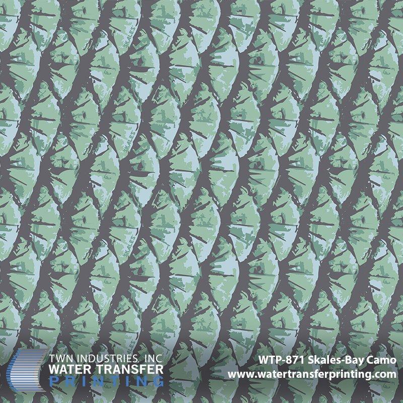 WTP-871 Skales Bay Camo Hydrographic Film
