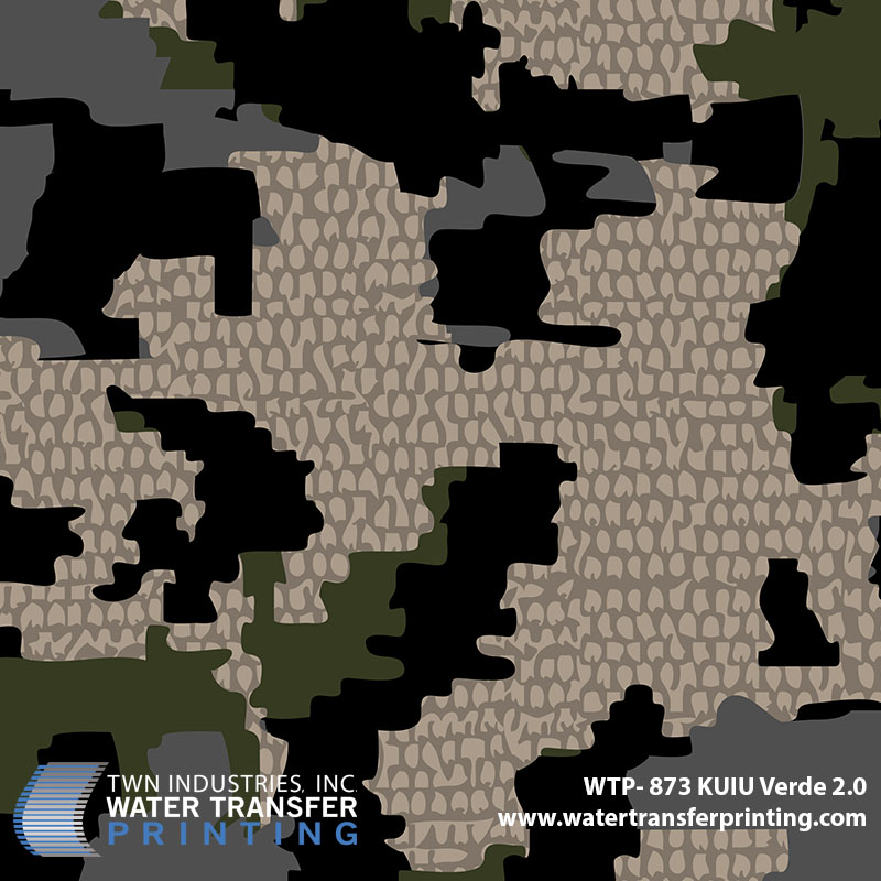 WTP-873 KUIU Verde 2.0 Hydrographic Film