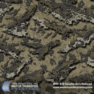 WTP-878 Desolve Bare Reduced Hydrographic Film