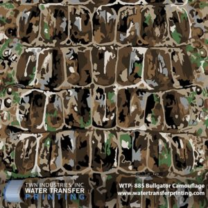 WTP-885 BullGator Camouflage Hydrographic Film