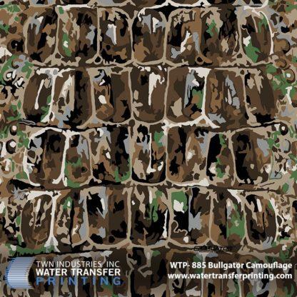 WTP-885 BullGator Camouflage Hydrographic Film