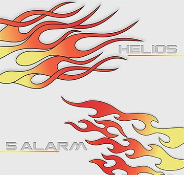 Helios and 5-Alarm Flame Water Transfer Printing Film