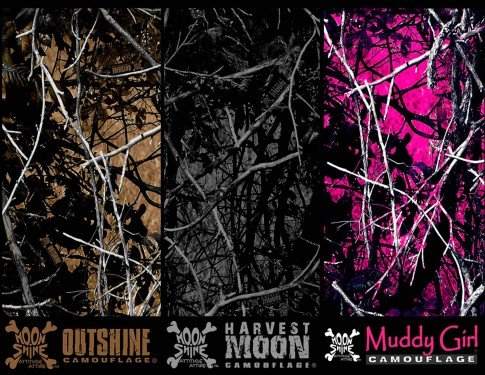 Moon Shine Camo Hydrographic Films