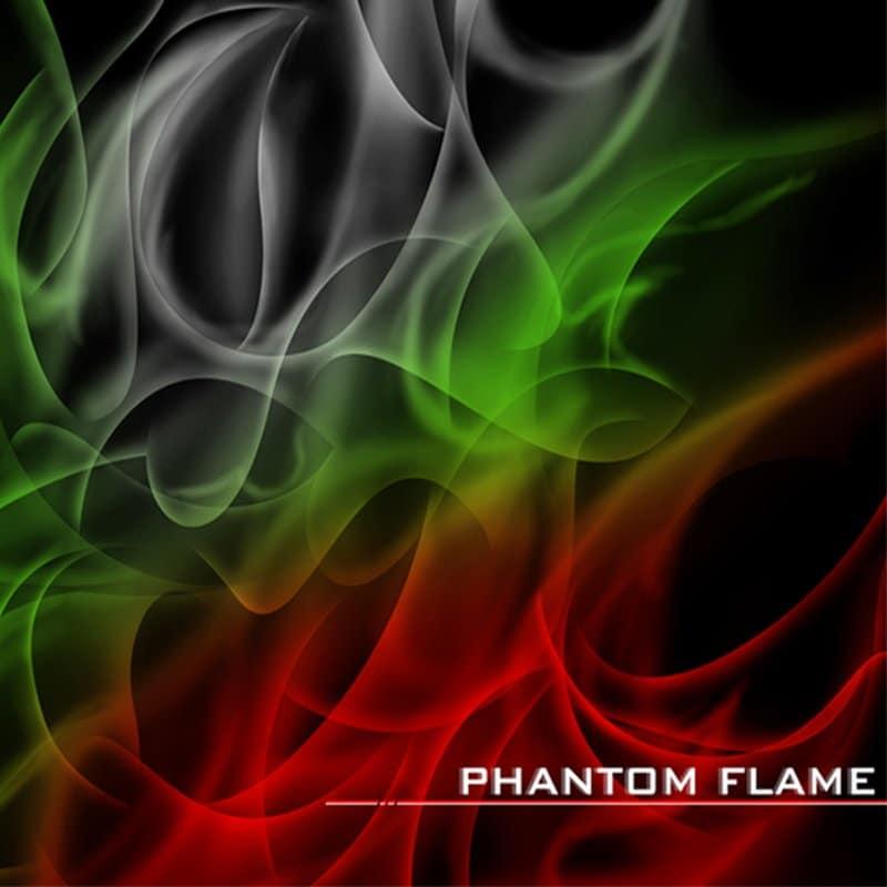 Phantom Flame Hydrographic Film
