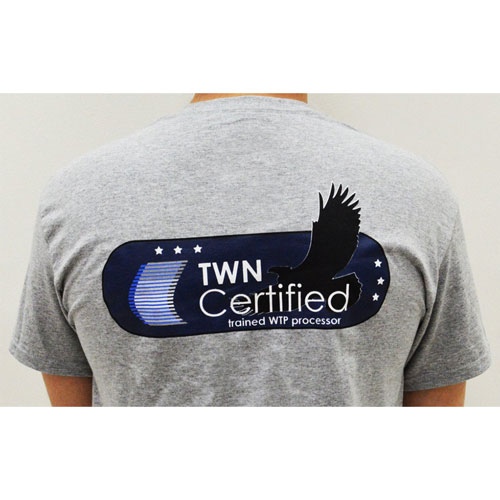 TWN Industries Water Transfer Printing Certified T-Shirt