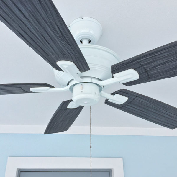 Monaco Walnut Ceiling Fan