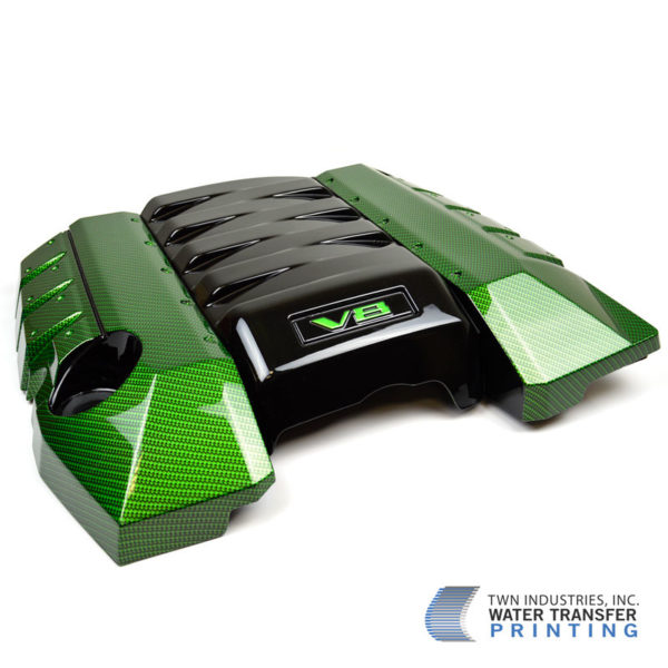 Realistic Carbon Fiber Hydrographic Film Engine Cover